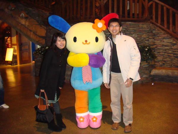 Hello Kitty樂園~和人偶合照