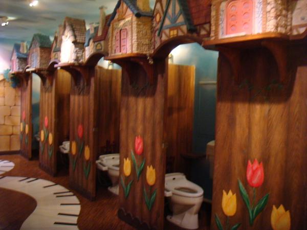 Hello Kitty樂園~廁所也很夢幻