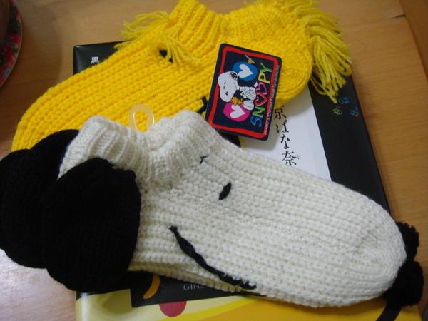 snoopy的襪子