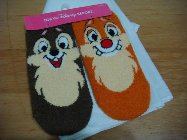 Chip 'n' Dale的襪子