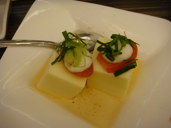 前菜~山藥豆腐沙拉