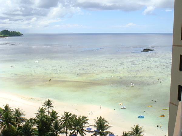 outrigger飯店~遠方的海灘