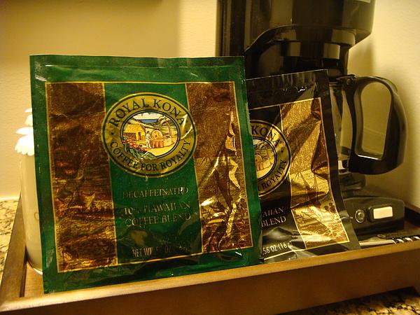 outrigger飯店~房內有咖啡機