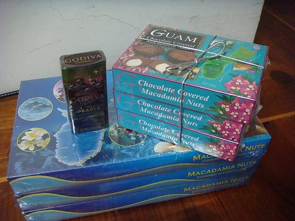 關島的巧克力