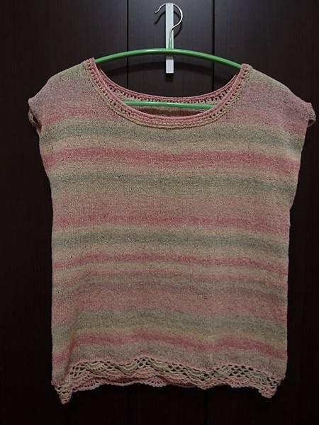 2011編織作品~漸層夏衫