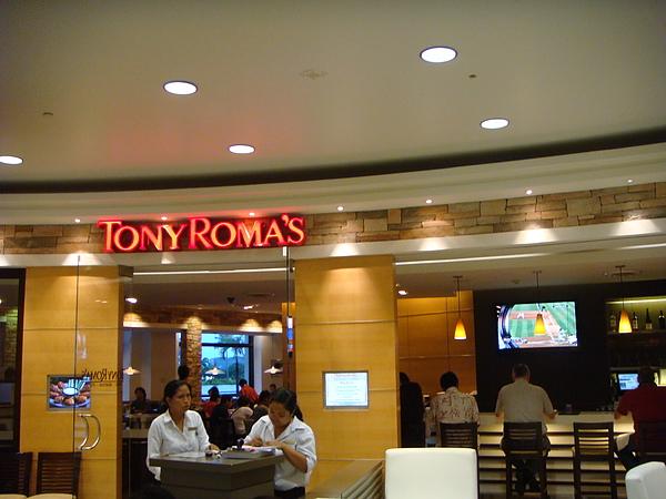 TONY ROMA'S~