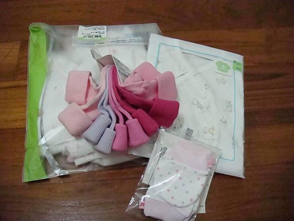 mothercare的襪子&小手套