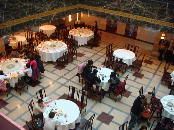 上海老飯店內