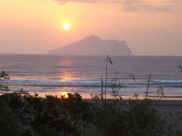 龜山島夕陽