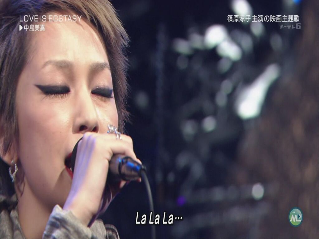 Mika Nakashima - LOVE IS ECSTASY (Music Station - 2011.09.09)[22-50-03].JPG