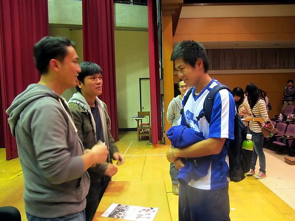 還有來自日本的留學生唷!