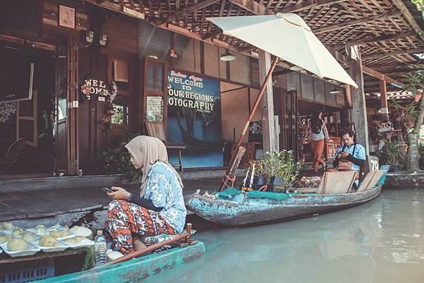 水上市場攤販