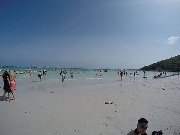 暹邏灣沙灘