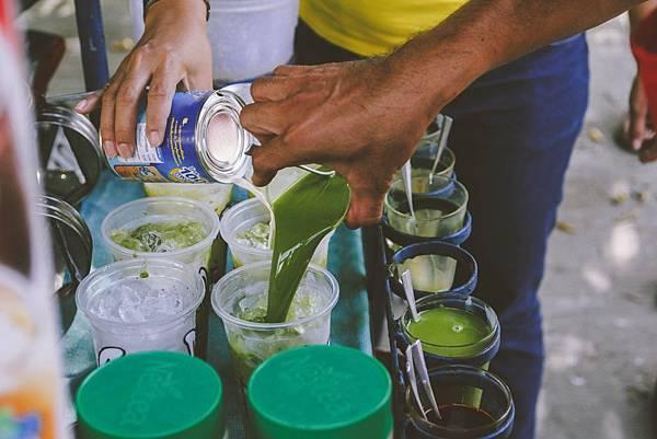 泰式綠奶加煉乳