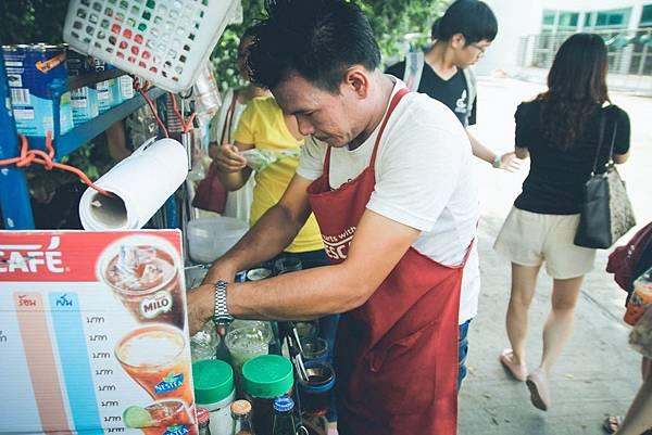 泰式奶茶攤販