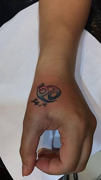 巨蟹座刺青