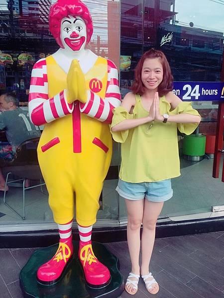 泰國特有麥當勞叔叔
