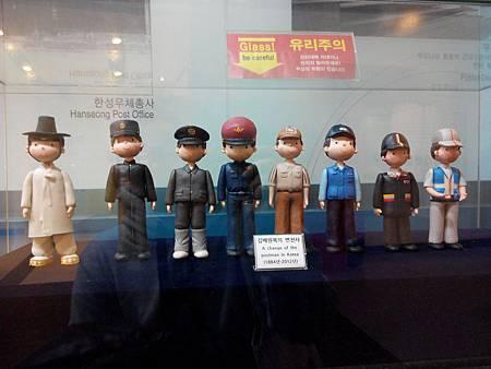 郵政人員進化史