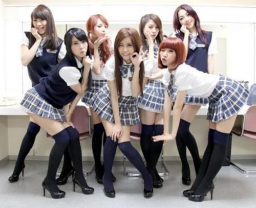 台灣7人組天氣女孩+7