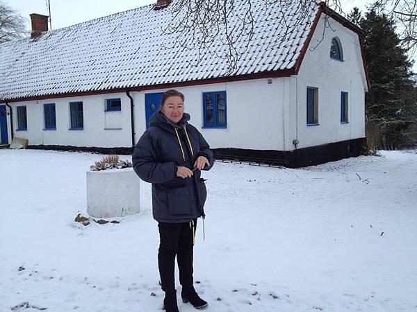 Inge's host mom