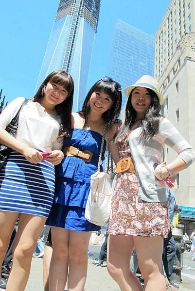 和台灣交換學生出遊