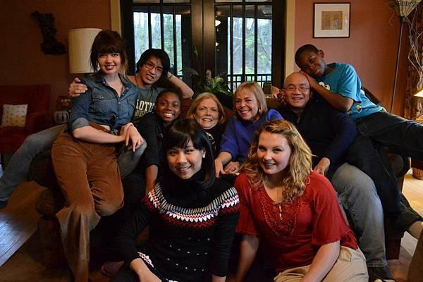 Sabrina with family