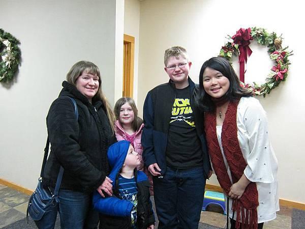 Katrina with family