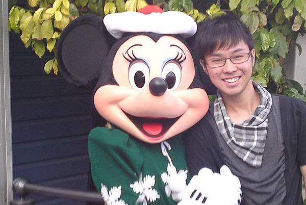 Joey with Minnie