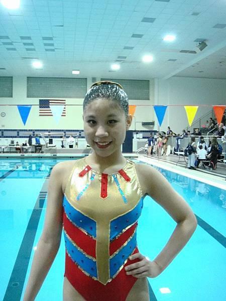 Sabrina水上芭蕾比賽