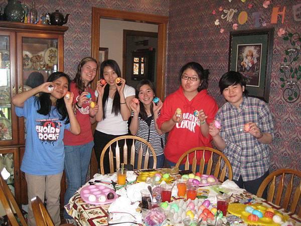 Katrina with families