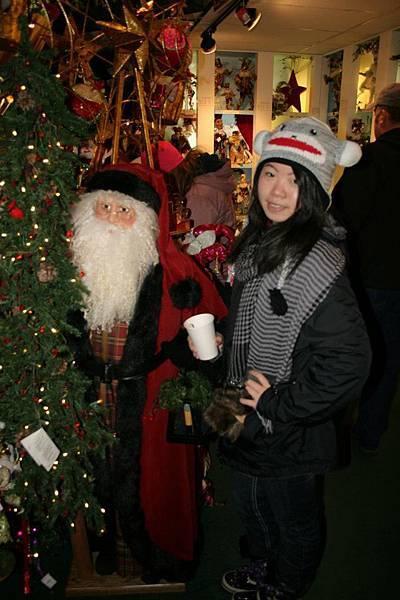 薰儀 with Santa