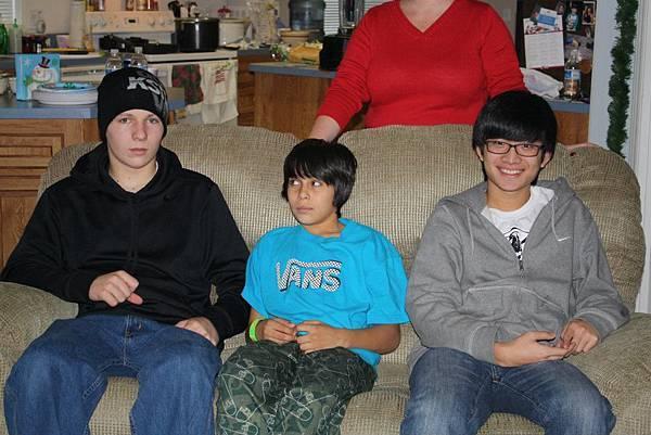 Jason with boys