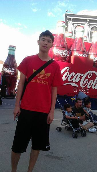 Ramond with Cokes