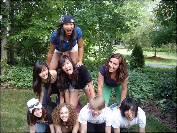 高中交換生保持開闊的心胸,就能快速融入當地生活,結交異國朋友。
