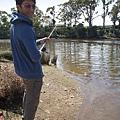 第一次釣魚囉