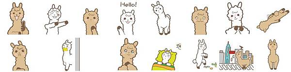 WeChat新聞圖檔貼圖_牛奶可可草泥馬