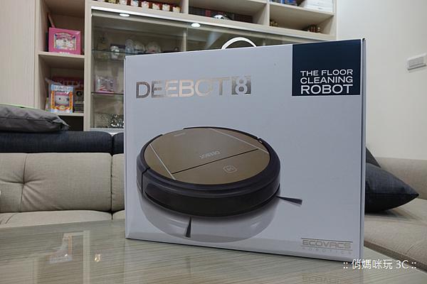 這台掃的乾淨!Ecovacs 智慧吸塵拖掃地機器人 Deebot-D83 開箱