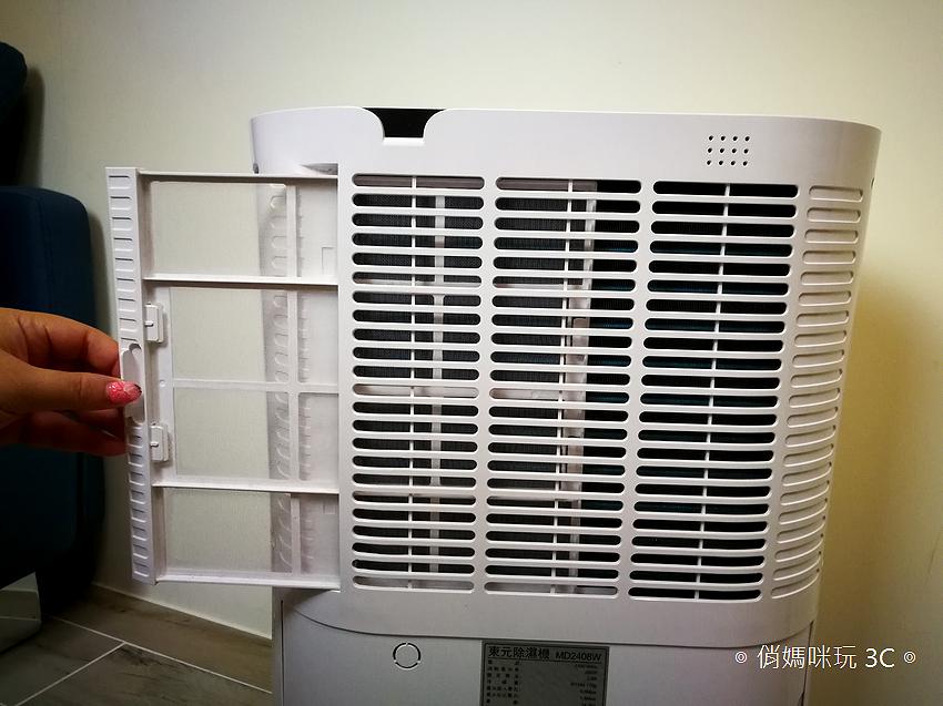 TECO 東元 12 升除濕清淨機 (MD2408W) 多用途開箱 (14).png