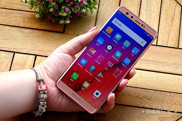 SUGAR S11 全螢幕平價手機開箱(俏媽咪玩3C) (6).png