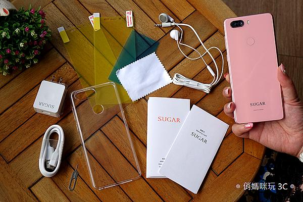 SUGAR S11 全螢幕平價手機開箱(俏媽咪玩3C) (18).png