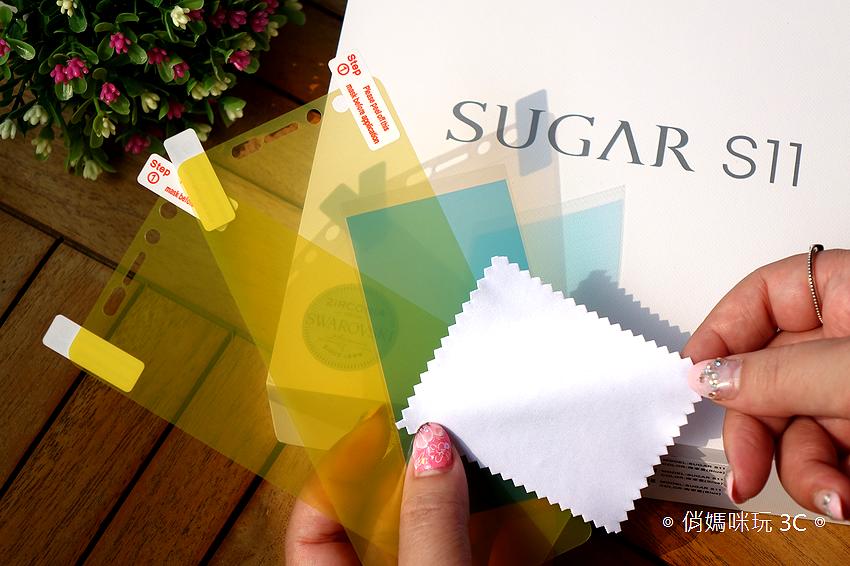 SUGAR S11 全螢幕平價手機開箱(俏媽咪玩3C) (1).png