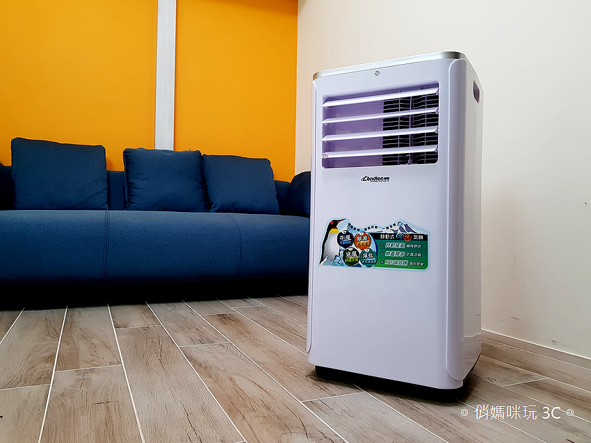 LENDIEN 聯電 5-7 坪六機一體冷暖型清淨除溼移動式冷氣機 10000BTU (LD-2760CH) 開箱 (3).png