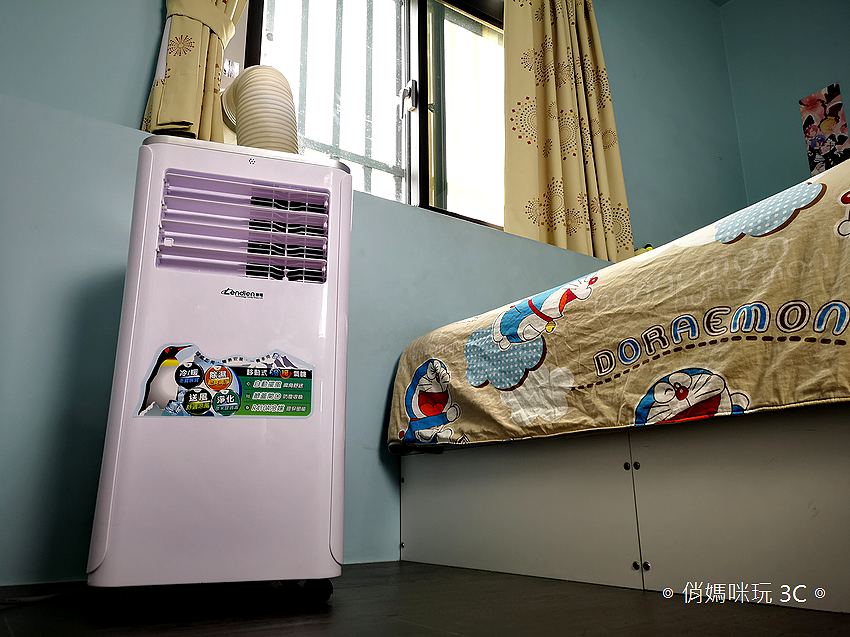 LENDIEN 聯電 5-7 坪六機一體冷暖型清淨除溼移動式冷氣機 10000BTU (LD-2760CH) 開箱 (45).png