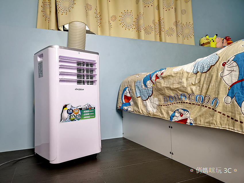 LENDIEN 聯電 5-7 坪六機一體冷暖型清淨除溼移動式冷氣機 10000BTU (LD-2760CH) 開箱 (48).png