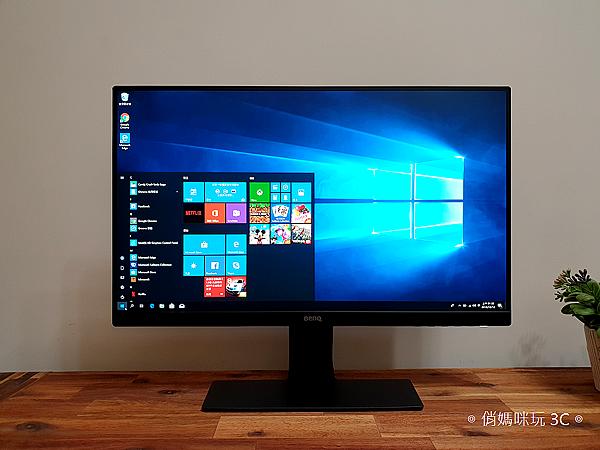 BenQ 24 型 IPS 寬螢幕窄邊框 GW2480 開箱 (俏媽咪玩 3C) (13).png