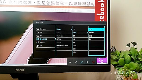 BenQ 24 型 IPS 寬螢幕窄邊框 GW2480 開箱 (俏媽咪玩 3C) (24).png