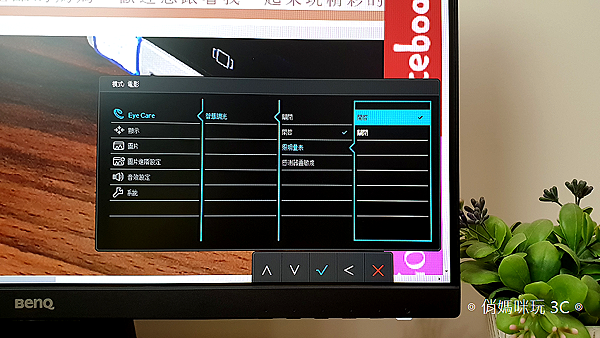 BenQ 24 型 IPS 寬螢幕窄邊框 GW2480 開箱 (俏媽咪玩 3C) (28).png