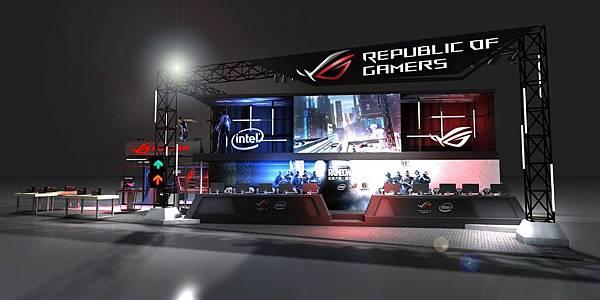 ROG玩家共和國以「ROG六號基地」為主題,歡迎熱血玩家呼朋引伴前往ROG攤位,沈浸重磅打造的史詩級科幻場景,盡情享受超乎想像的電競派對。.jpg