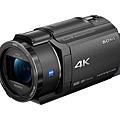圖1) Sony 全新4K Handycam FDR-AX43 重量僅 600 克,為全系列最輕巧機種;搭載20倍光學變焦,具備高解析度的4K影片錄製能力與高音質獨立麥克風收音。.jpg