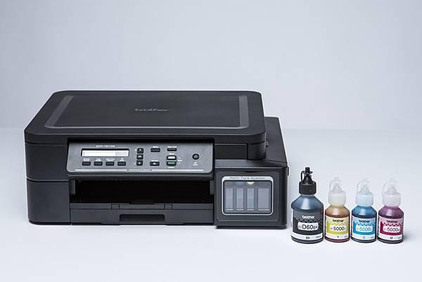 一瓶黑墨可列印多達6500張和彩墨可列印5000張,超低列印成本印一張只需0.06元上下.jpg